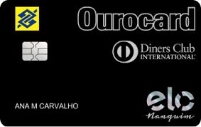 Ourocard Elo Nanquim Diners Club
